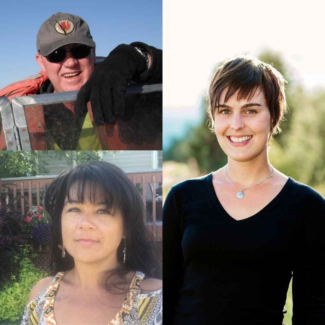 Natasha Overduin, Kerry Ann Charles, Eric Lorne Blais